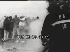 Thumbnail of Protesters Face Fire Hoses