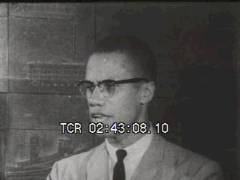 Thumbnail of Malcolm X States Beliefs