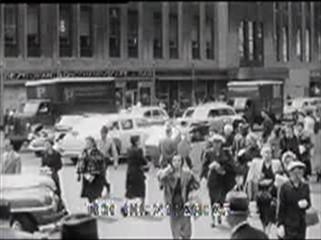Thumbnail of Fifties NYC Pedestrians