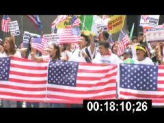Thumbnail of Patriotic Symbols at Rights March