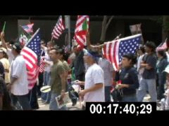Thumbnail of Immigrant Rights Marchers